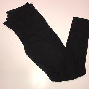 Black Rockstar 24/7 Super Skinny Old Navy Pants